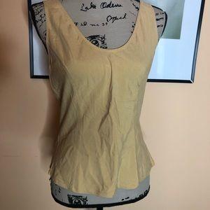 Victoria's Secret gold label silk tank